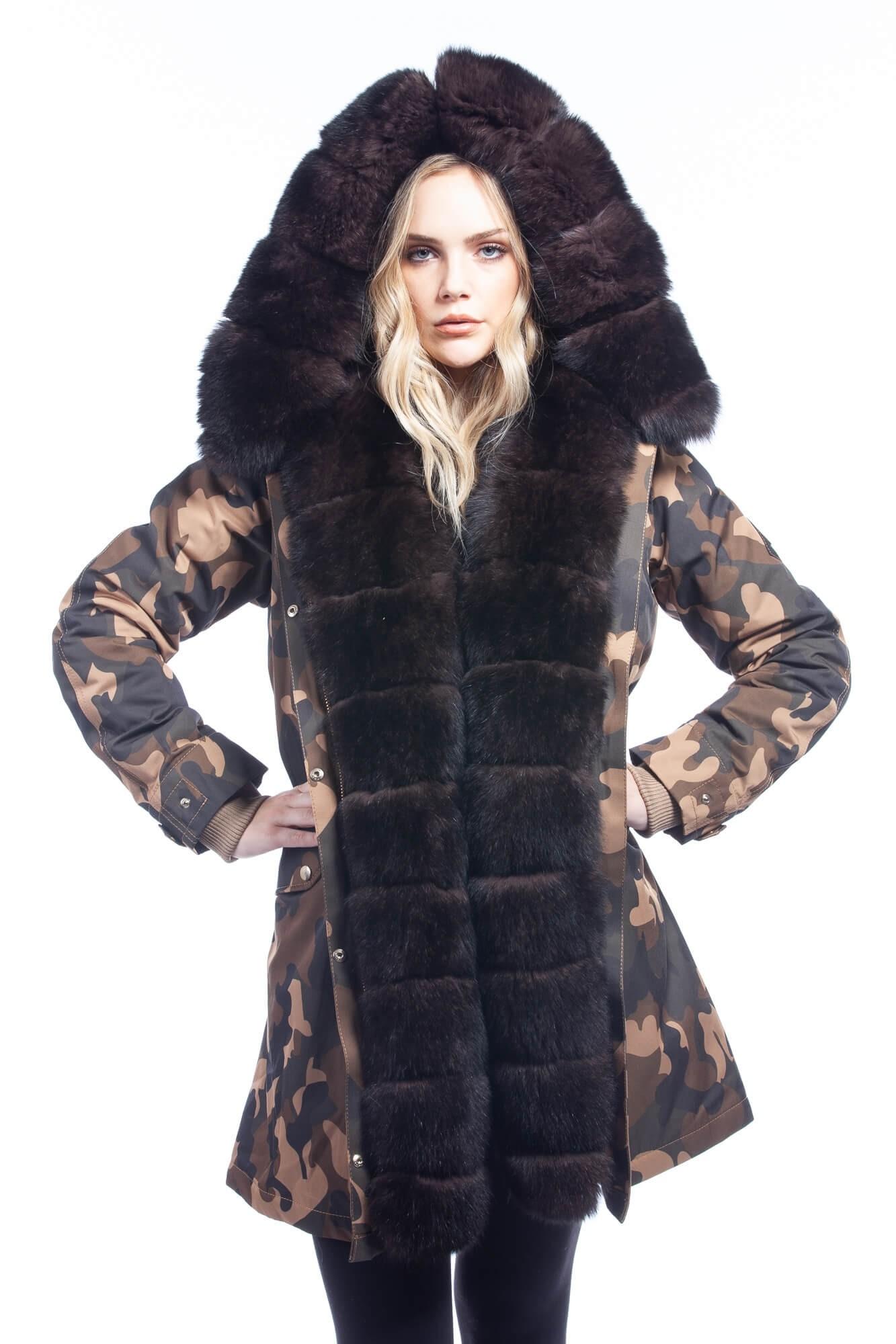 Women Coat - Camouflage