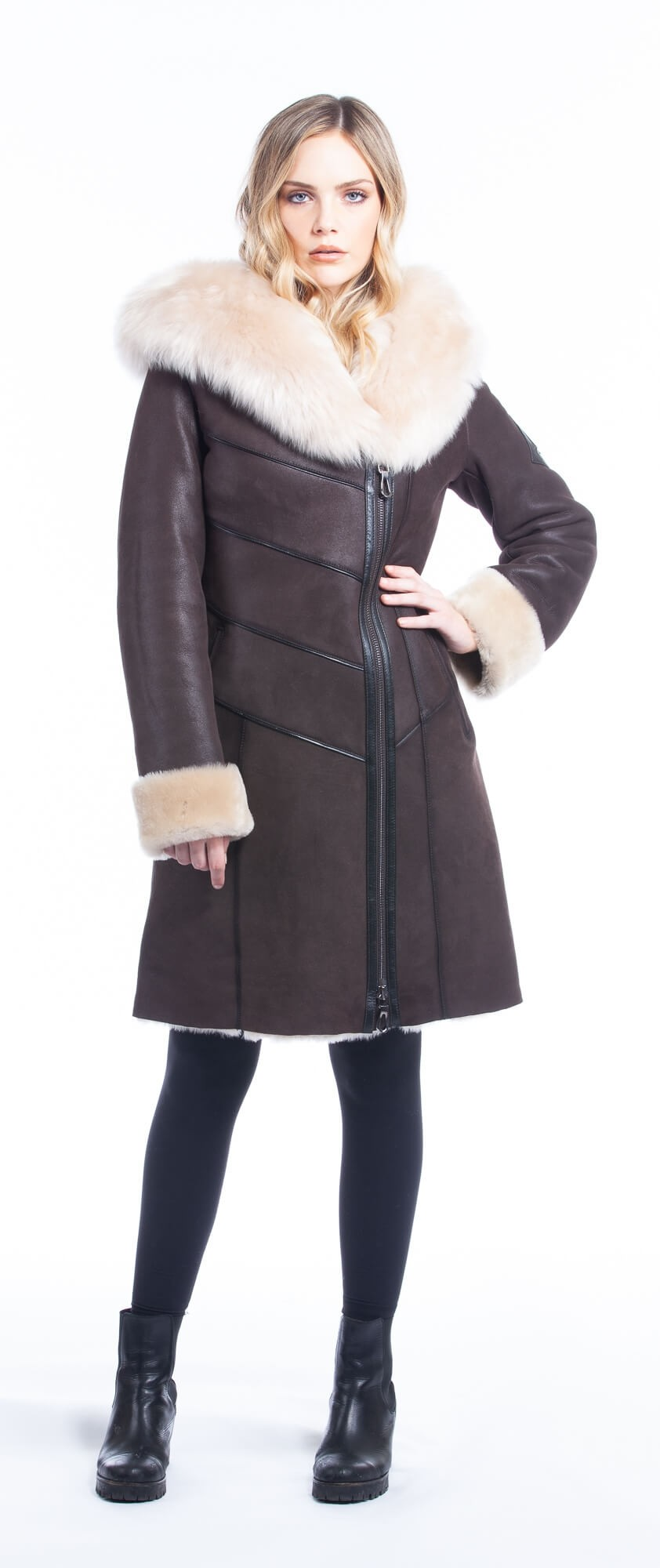 Coat For Women With Fur