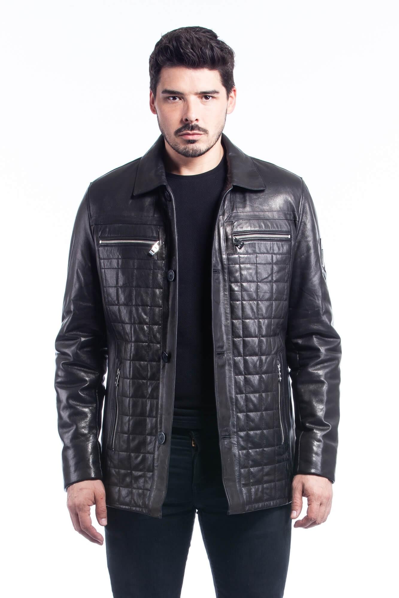 Jacket For Men - Leather