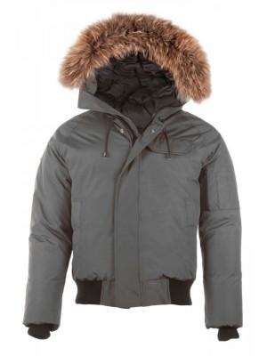 Saint Sauveur - Bomber Winter Jacket (No fur lining inside hood)